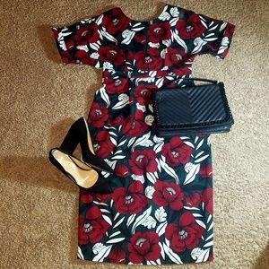 ASOS Midi Length Floral Dress